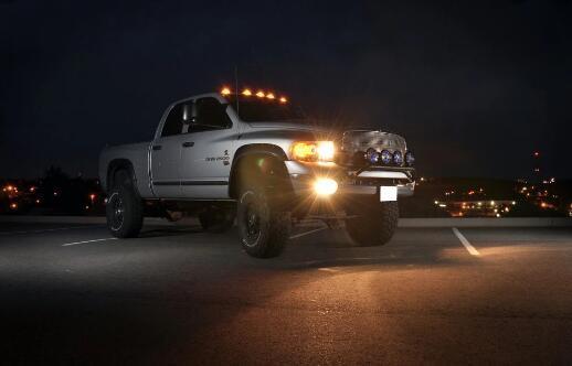 H4 Led Headlights on 2005 Dodge Ram