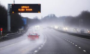 tips to prevent aquaplaning
