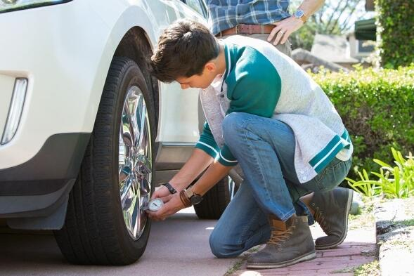 Why should I take care of the tire pressure on my truck?